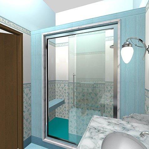 душ без ванной