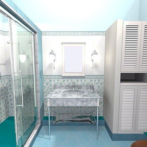 вариант ванной комнаты без ванны