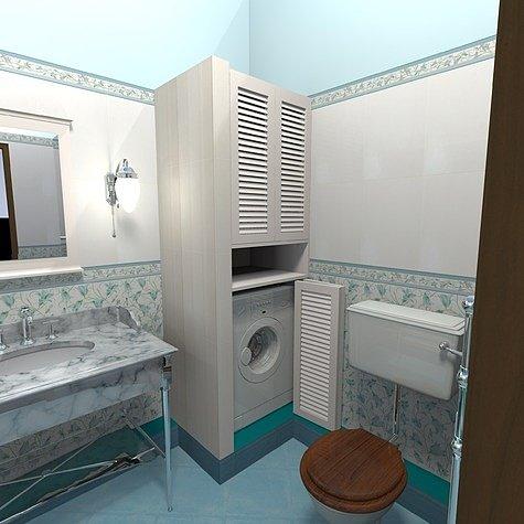 дизайн ванной без кафеля
