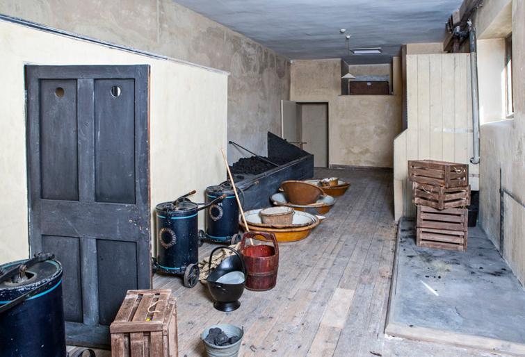 туалет в Одли-Энд