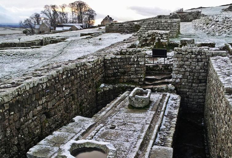разрешенный туалет в Римском форте Хаусстедс